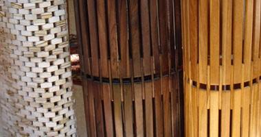 Alfombras de diferentes tipos de madera