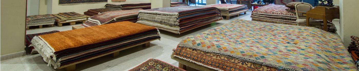 Gran diversidad de alfombras en nuestra tienda