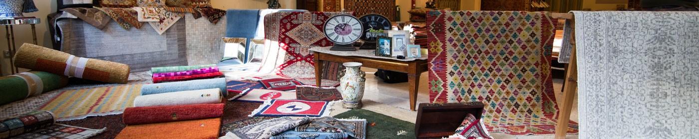 Escaparate tienda alfombras yasmina.