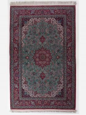 alfombras Isfahan Iran Urdimbre de Seda