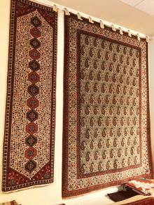 Puedes saber el origen de una alfombra persa por su for Origen de alfombra