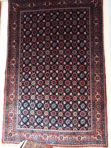 Puedes saber el origen de una alfombra persa por su for Alfombras persas online