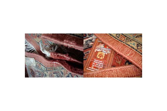 Limpieza y mantenimiento alfombras persas yasmina zaragoza for Restauracion alfombras persas