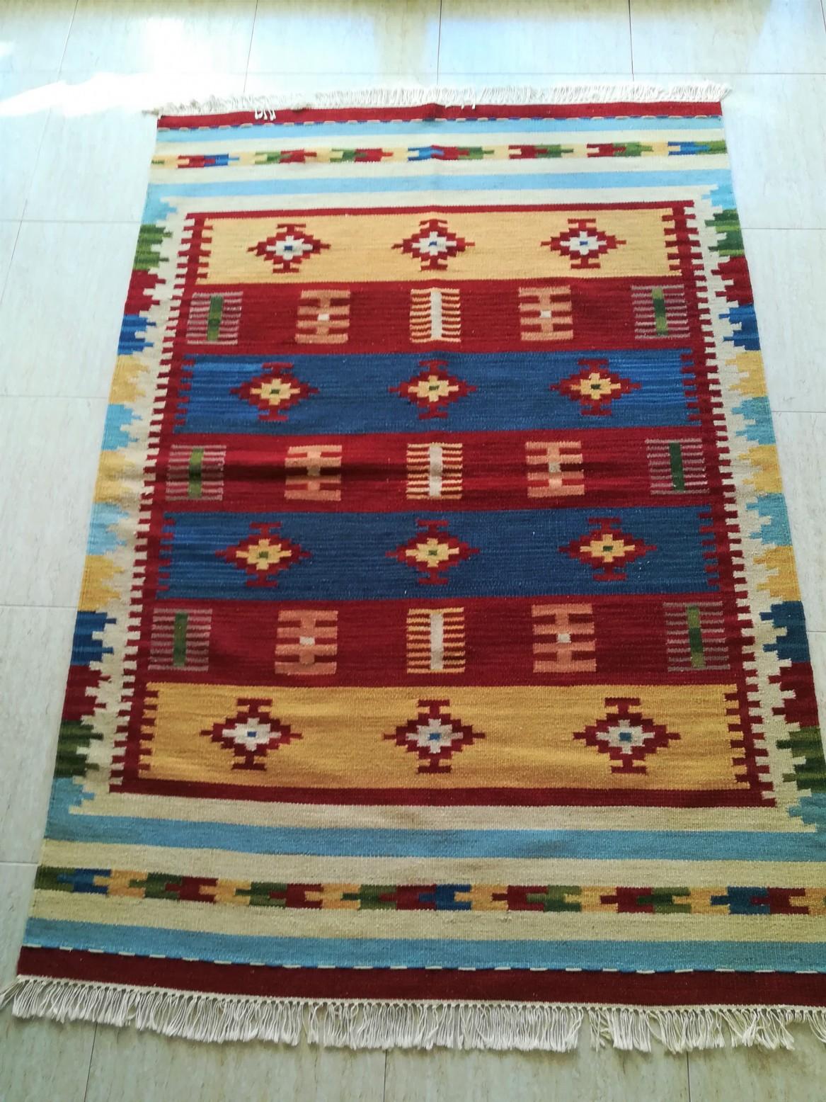 KILIM INDIA 180 x 120 cm