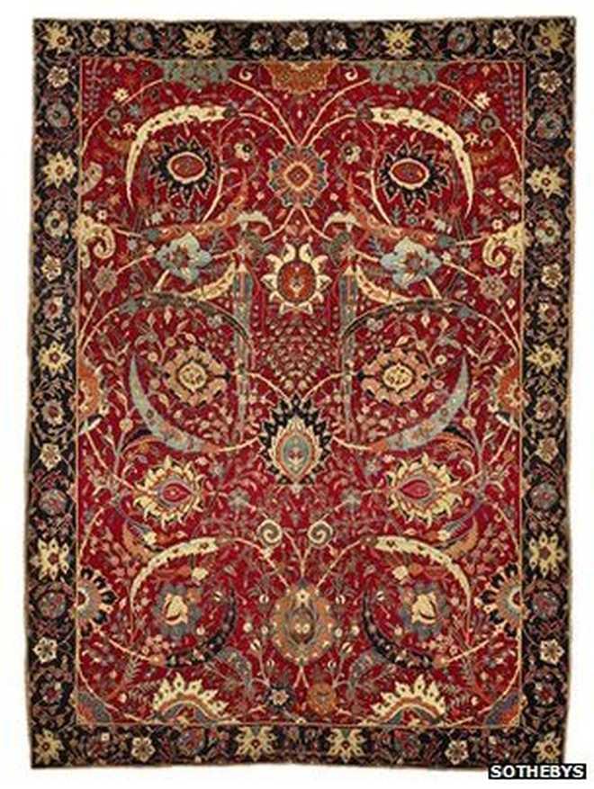 ¿Sabías que la alfombra más cara del mundo cuenta con casi 400 años de historia?